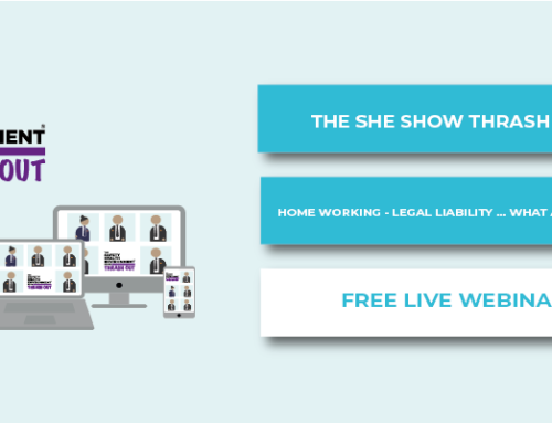 The SHE Show Thrash Out – Home Working – Legal Liability … What a Grey Area!